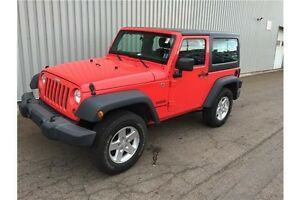 2013 Jeep Wrangler Sport V6 4X4 2 DOOR SPORT EDITION - AWESOM...