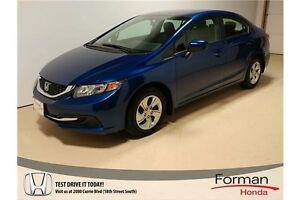 2015 Honda Civic LX - Local - One Owner | Heated Seats | BT