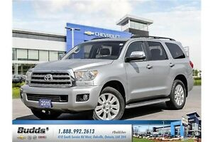 2011 Toyota Sequoia Platinum 5.7L V8 SAFETY AND E Tested