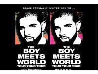 2 x Drake Boy Meets World 5th Feb @ London 02