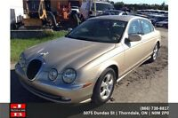 2002 Jaguar S-Type 100% Approval!