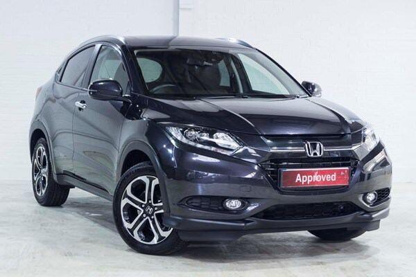 Honda HR-V I-DTEC EX (black) 2016