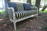 French Sofa Settee = free delivery