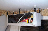 Hanging Pantry for Tent Trailer
