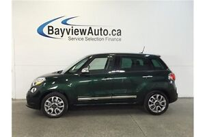 2015 Fiat 500L LOUNGE- TURBO! PANOROOF! LEATHER! NAV!