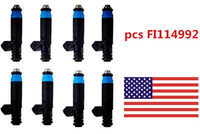 8pc Deka 80 LB High Impedance Fuel Injectors EV1 110324 FI114992  NEW ()