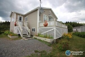 2 bdrm, 1 bath bungalow style home with room to expand