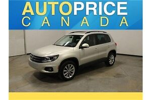2014 Volkswagen Tiguan Highline |PANOROOF|LEATHER|POWER SEAT