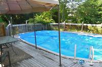 Imagine spending your hot summer days here!