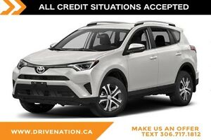 2016 Toyota RAV4 LE NO ACCIDENTS, AWD SUV, BLUETOOTH, WHEEL M...