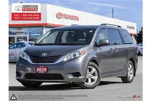 2016 Toyota Sienna LE 8 Passenger Toyota Certified, No Accidents London Ontario image 1