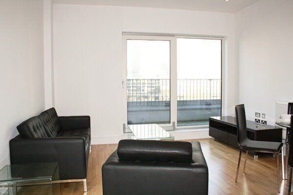 DESIGNER FURNISHED 1 BEDROOM APARTMENT - INDESCON SQUARE - CANARY WHARF E14 - CONCIERGE - BALCONY