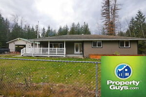 Modern 3 bdrm on .64 of an acre Kitchener BC  198230