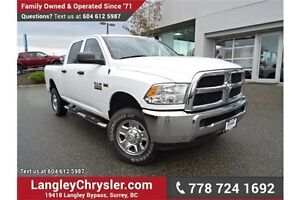 2014 RAM 2500 ST W/ TOW PACKAGE & POWER ACCESSORIES