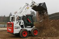 2 Bobcat skid steers for Hire