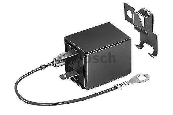 Flasher Unit fits HYUNDAI H100 PONY GRACE PRESTO 1.3 1.5 2.4 2.5D 86 to 96 Bosch