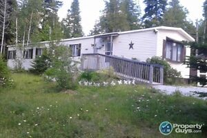 2 acres of very private land. Mini Home w new roof.