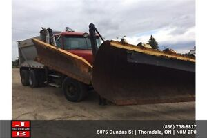 1998 Volvo Dump with Plow