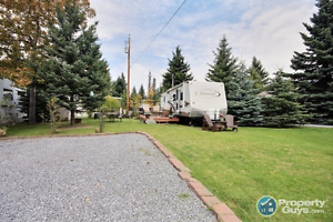 Beautiful RV PARK LOT with Trailer or Lot Only - Your Choice!!