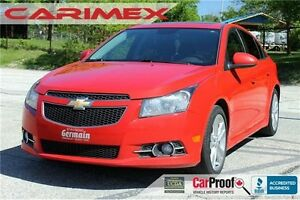2012 Chevrolet Cruze LT Turbo | Sunroof | RS Pkg | Manual
