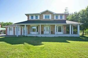 Fabulous Detached 2 Story Home On Private 1/2 Acre Lot, Desirabl