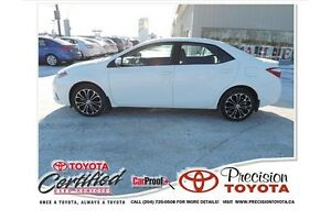 2014 Toyota Corolla S Lease Return, One Owner, Leather, Heate...
