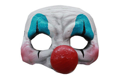 FACE SCARY LATEX HALLOWEEN MASK (Happy Face Halloween)