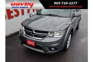 2012 Dodge Journey SXT & Crew TOUCH SCREEN, BLUE TOOTH, BACK...