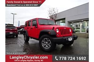 2016 Jeep Wrangler Unlimited Rubicon W/ NAVIGATION & REMOVABL...