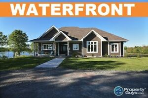 NEW PRICE! Antigonish - Waterfront Executive Ranch on 3 Acre