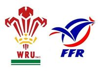 6 Nations 2 Tickets (Wales v France)