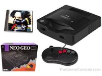 Do you have any old games consoles ? - NEO GEO console & games wanted