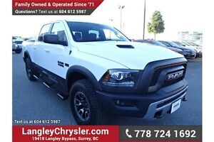 2016 RAM 1500 Rebel w/ Safety Rear Camera & Touchscreen Media
