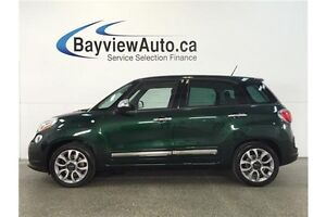 2015 Fiat 500L LOUNGE- TURBO! PANOROOF! LEATHER! NAV! CRUISE!