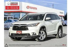 2014 Toyota Highlander Limited Limited - AWD - Single Owner