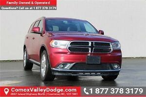 2015 Dodge Durango Limited AWD, LEATHER HEATED SEATS, BACK UP...