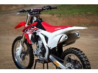 Crf 450 brand new exhaust 2015 /2016
