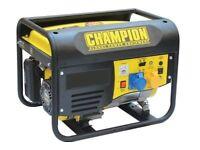 NEW - Champion CPG4000E1 Petrol Generator, Ballynahinch, Drumaness