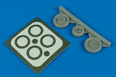 AIRES HOBBY 1/48 MIG17 FRESCO WHEELS PAINT MASKS FOR HBO 4416