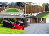 GRASS CUTTING, All LANDSCAPING, GARDENS CLEARED, FENCING, Patios, GARDENING, Landscape Gardener