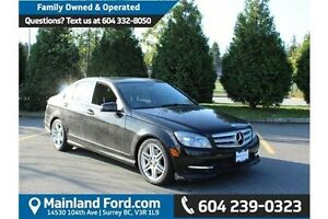 2011 Mercedes-Benz C-Class Navigation- Heated seats