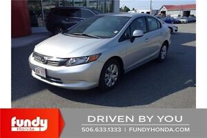2012 Honda Civic LX AC - CRUISE - BLUETOOTH!