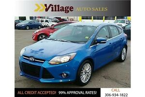 2013 Ford Focus Titanium Heated Seats, Bluetooth, Sirius Radi...