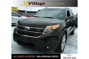 2013 Ford Explorer Limited Leather Interior, Cruise Control,...