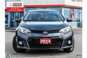 2014 Toyota Corolla S One Owner, No Accidents, Toyota Serviced London Ontario image 2