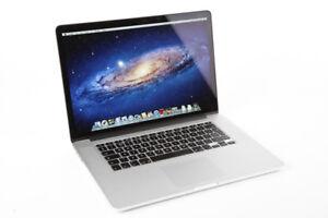 Apple MacBook Pro Retina 15 inch intel core i7  A 1199$ Wow