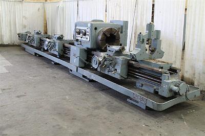 25 X 24096 Lodge Shipley Dual-side Hollow-spdl Engineboring Lathe - 26965