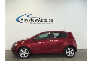 2012 Chevrolet SONIC LS- AUTO! 1.8L! A/C! ON STAR! LOW KM'S!