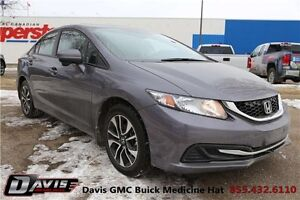 2015 Honda Civic EX Local trade! Sunroof! Heated seats!