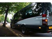 New MiniCoach Luxury Mercedes Sprinter 516 Cdi AUTOMATIC 17 Seats Mini Coach Minibus Bus